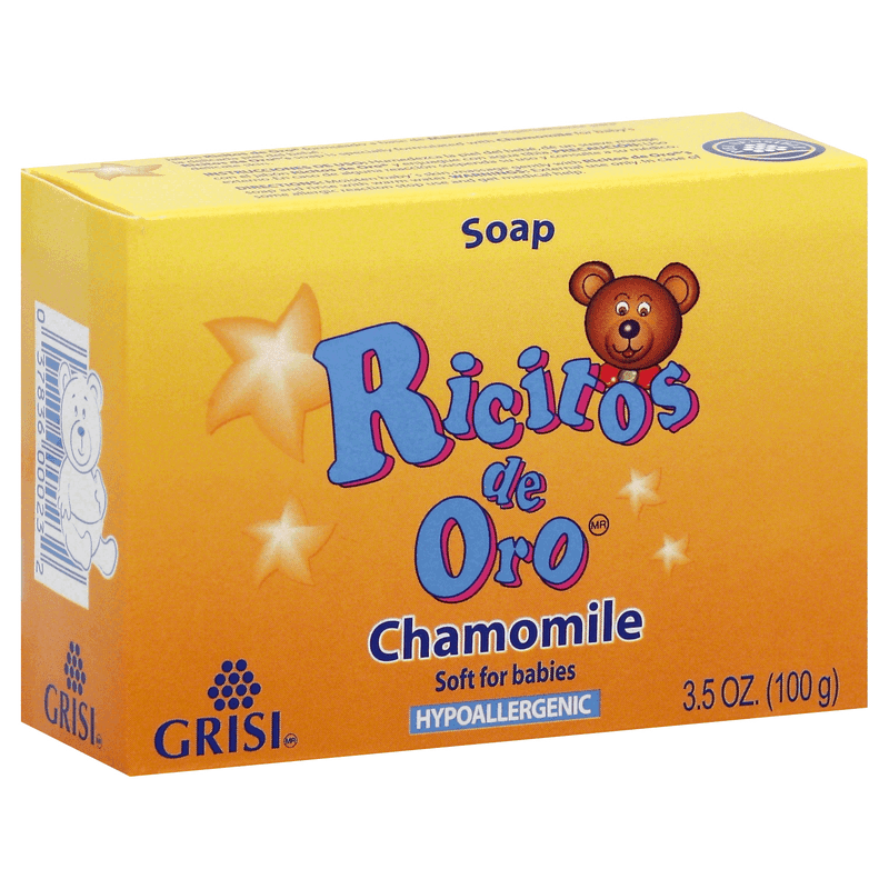 Ricitos De Oro Baby Soap 3.5