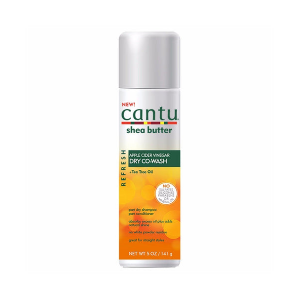 Cantu Apple Cider Vinegar Co-Wash Dry Shampoo Conditioner Straight Style 5 oz.