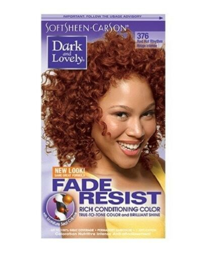 Dark and Lovely Fade Resist Hair Color Red Hot Rhythm 376
