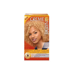 Creme of Nature Exotic Shine Color, Ginger Blonde, 10.01