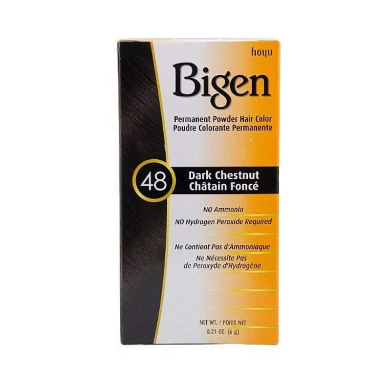 Bigen Powder Hair Color 48 Dark Chestnut .21 oz.