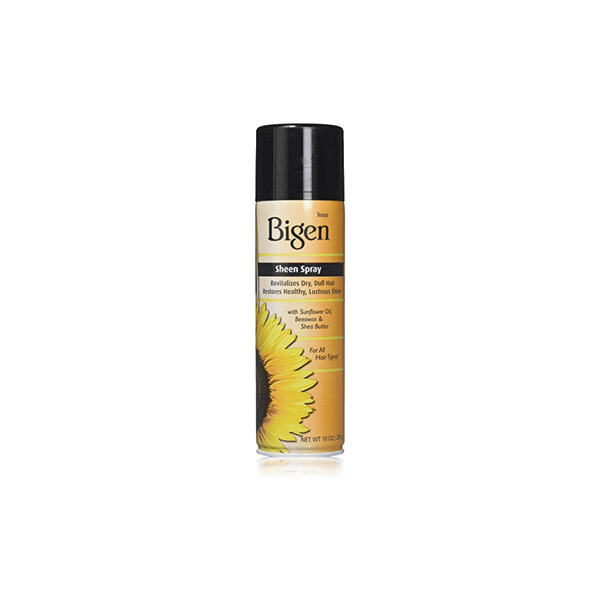 Bigen Oil Sheen Spray Lustrous Shine Shea Butter 10oz.