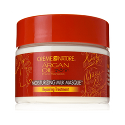 Creme of Nature With Argan Moisturizing Milk Masque Repairing Treatment, 11.5 Ounce