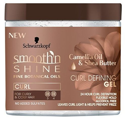 Smooth 'N Shine Camellia Oil & Shea Butter Curl Defining Gel 16 oz.