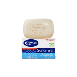 Dermisa Sulfur Facial Bar, 3 oz.