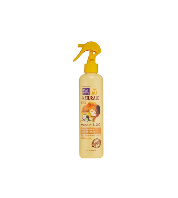 SoftSheen-Carson Dark & Lovely Au Naturale Moisture L.O.C. Super Quench Leave-In Spray, 8.5 oz.