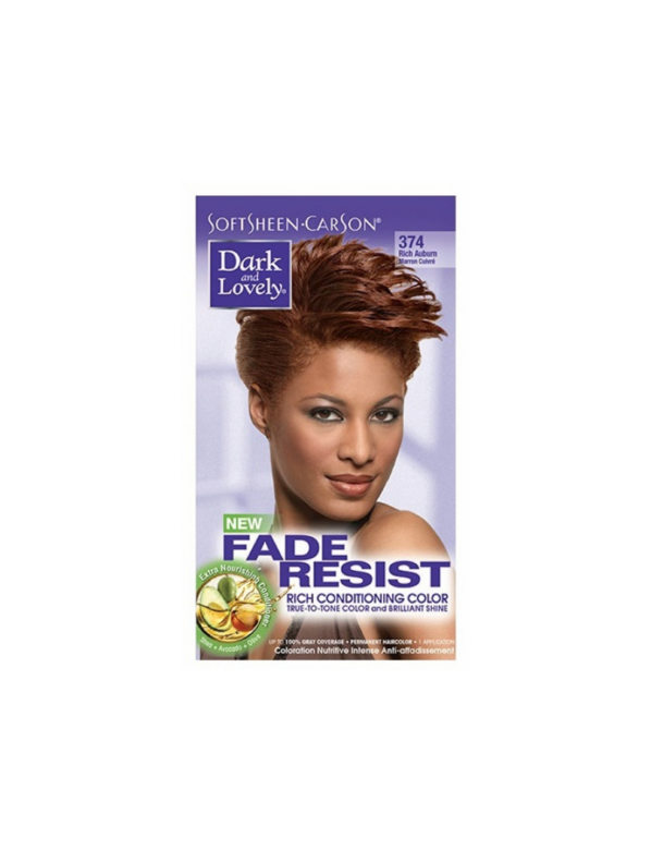 Dark & Lovely Fade Resistant Rich Conditioning Color  Rich Auburn,