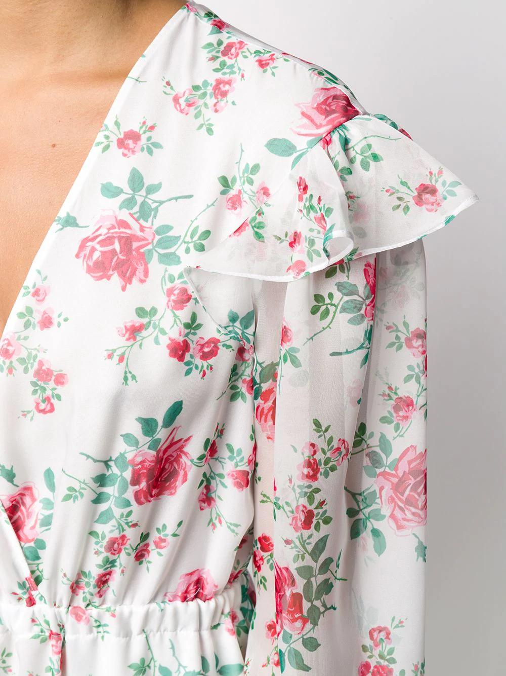 Chiffon Floral Dress