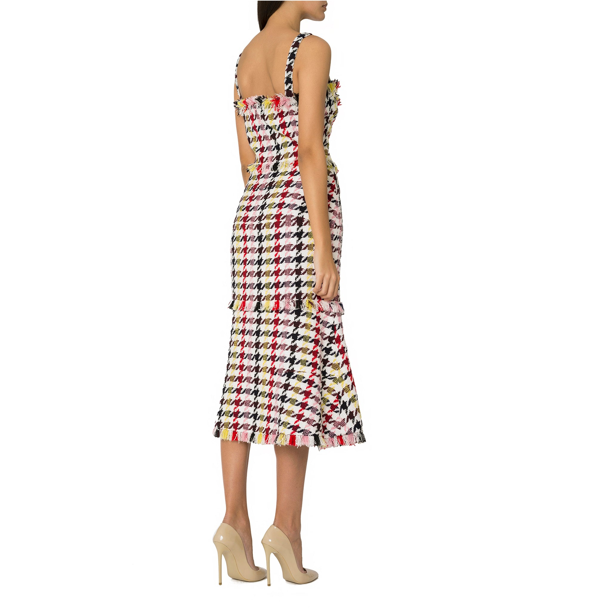 Multi Printed Midi Dress