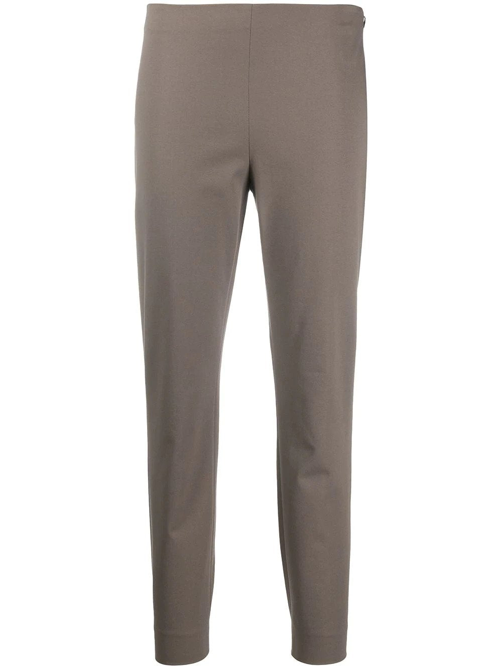 Stretch Cotton Slim-Fit Trousers