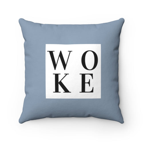 WOKE by ExBlackly (polyester square pillow)