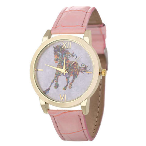 Montre Cheval <br>Multicolore