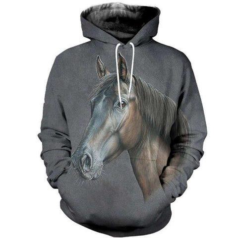 Sweat Motif Cheval