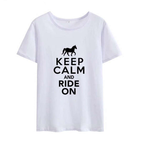 T-shirt Cheval Drole