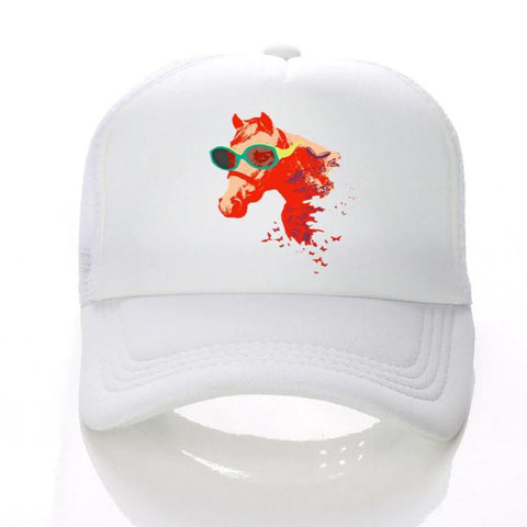 Casquette Cool funny cheval