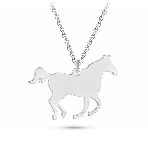Pendentif Cheval <br> Pur-Sang Arabe