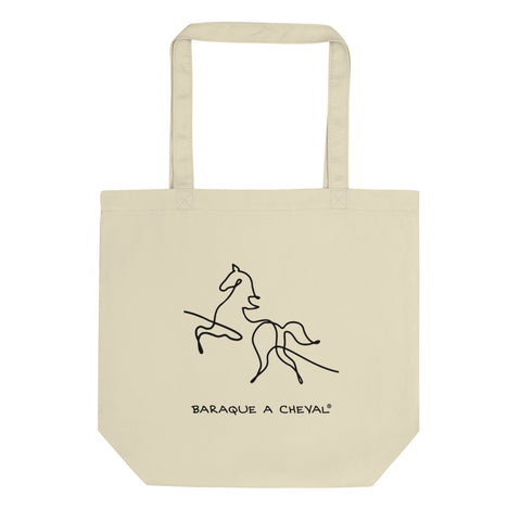 Tote Bag Bio Baraque à Cheval