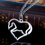 Collier Cheval<br> Pendentif Cheval Dressage