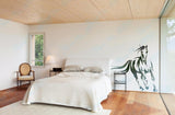 Sticker Mural Cheval Geant chambre