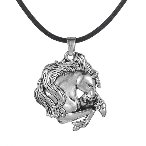 Collier Cheval<br> Pendentif Cheval Majestueux