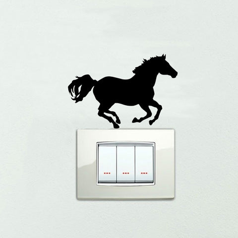 Stickers Muraux Cheval Pas Cher