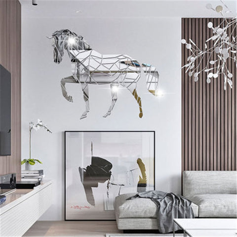 Stickers Cheval Miroir