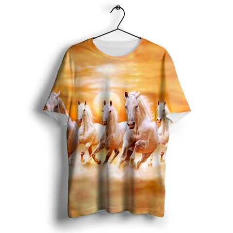T-Shirt Chevaux <br> Belle Canicule