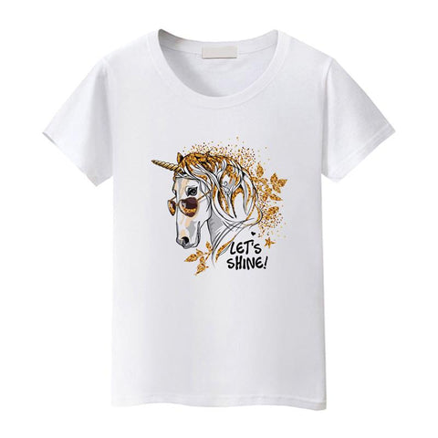 T-Shirt Cheval <br> Licorne Cool