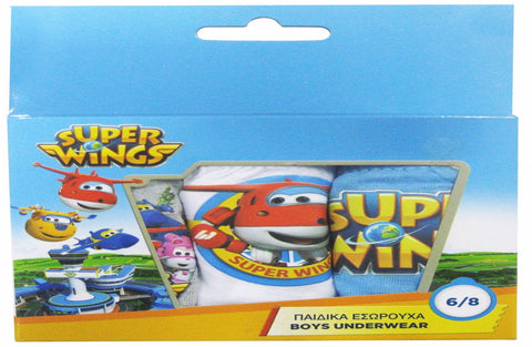 Jet Superwings pack of 3 slips
