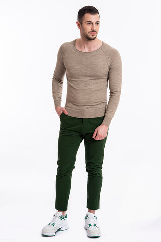 Gianni Lupo tapered slim fit trousers