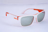 Diesel wayfarer white and orange sunglasses