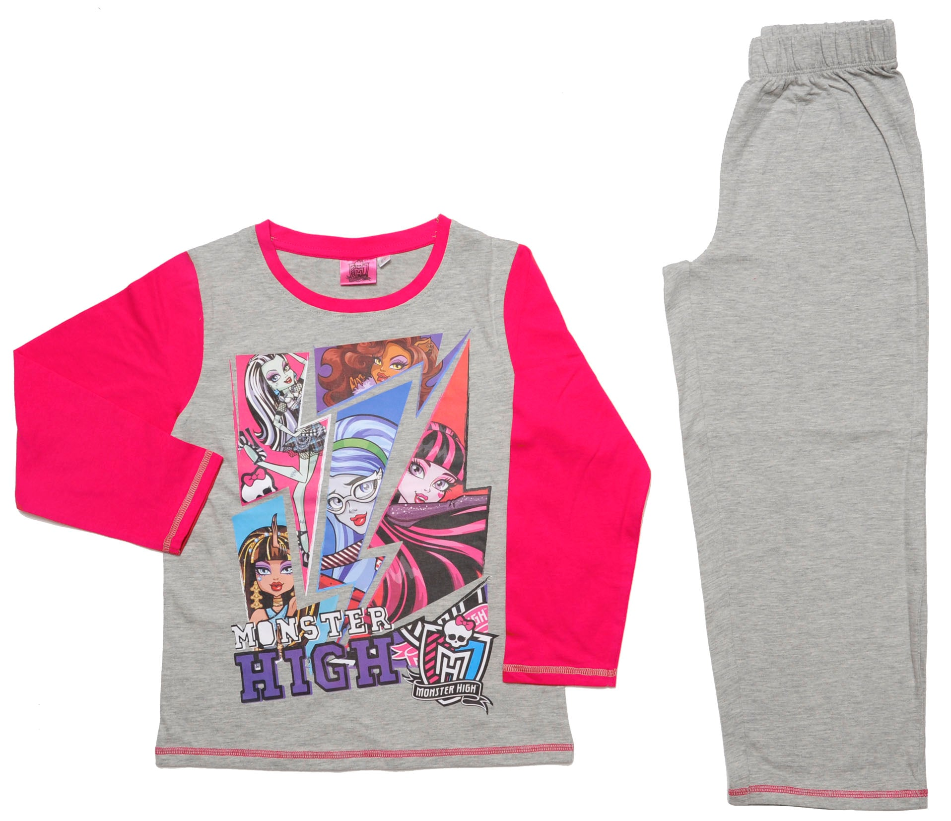 Monster high set of pyjamas in pink