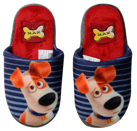 The Secret Life of Pets slippers with Max