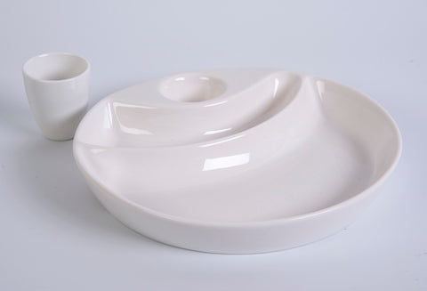 Maxwell & Williams 3 piece serving plate
