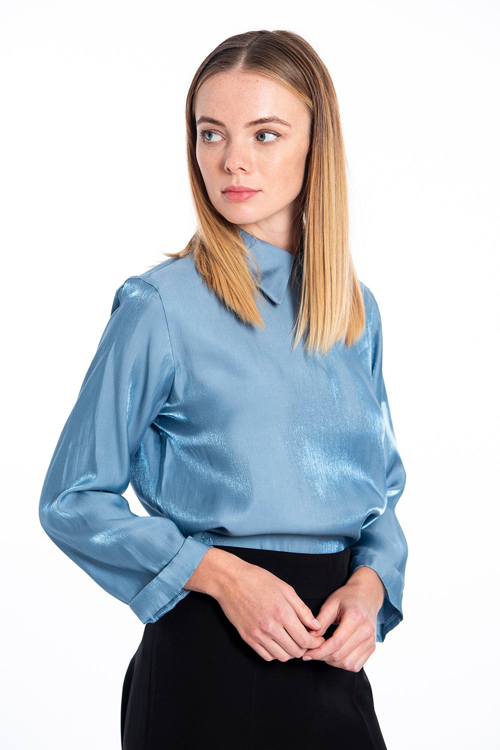 Patrizia Segreti shirt top with collar