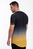 Kavanagh fitted cuffs top in gold fade