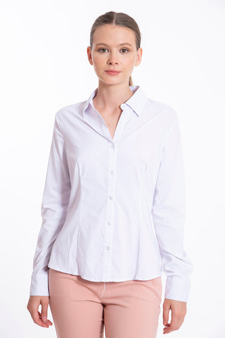 Akè basic white shirt