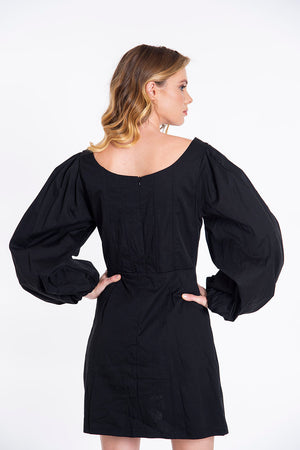 Glamorous extreme puff sleeves mini dress