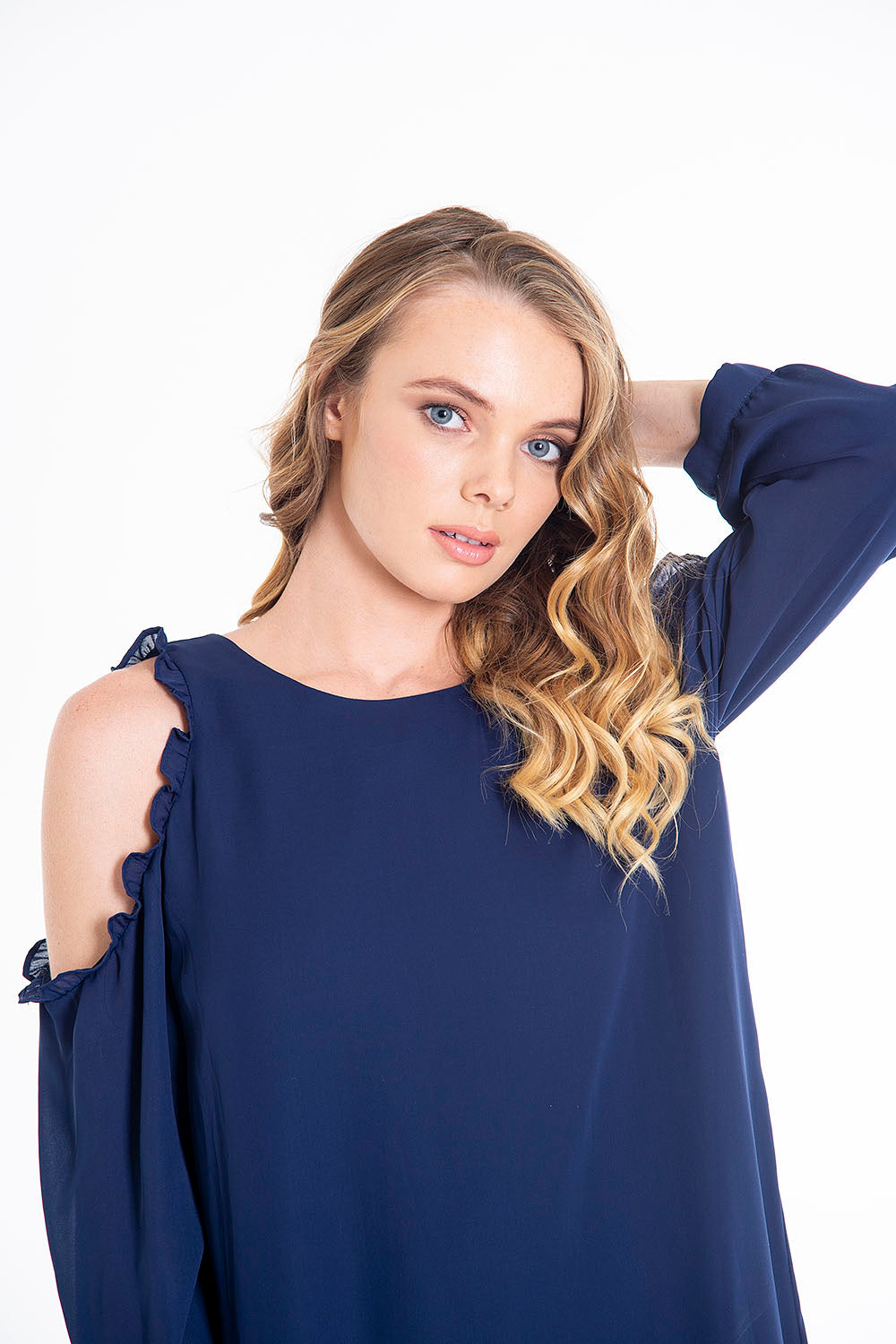 Kocca A line dress with off shoulders