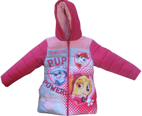Paw Patrol heroes parka with inner fleece and hood