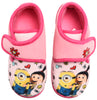 Minions pink scratch slippers