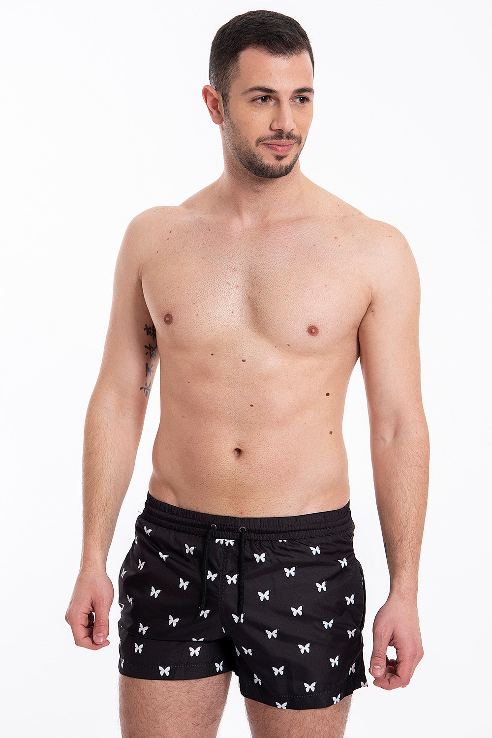 Good For Nothing batterfly swim shorts