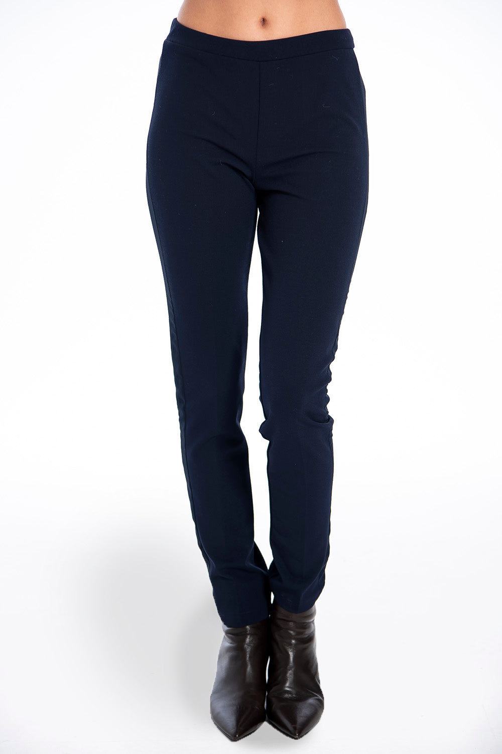 Akè side see through stripe in comfy trousers
