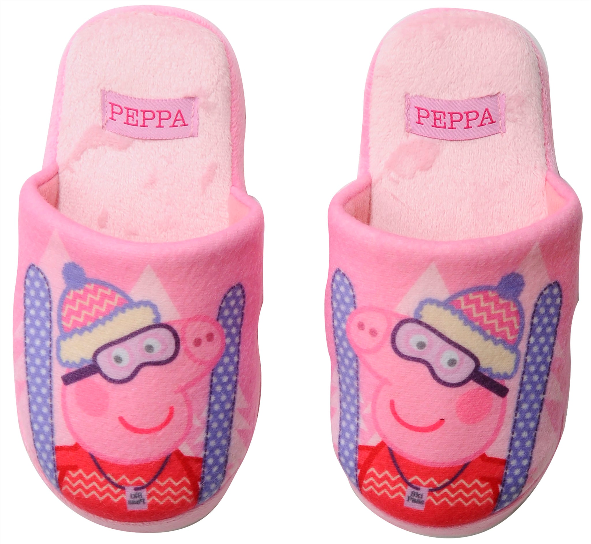 Peppa Pig slippers with ski Peppa