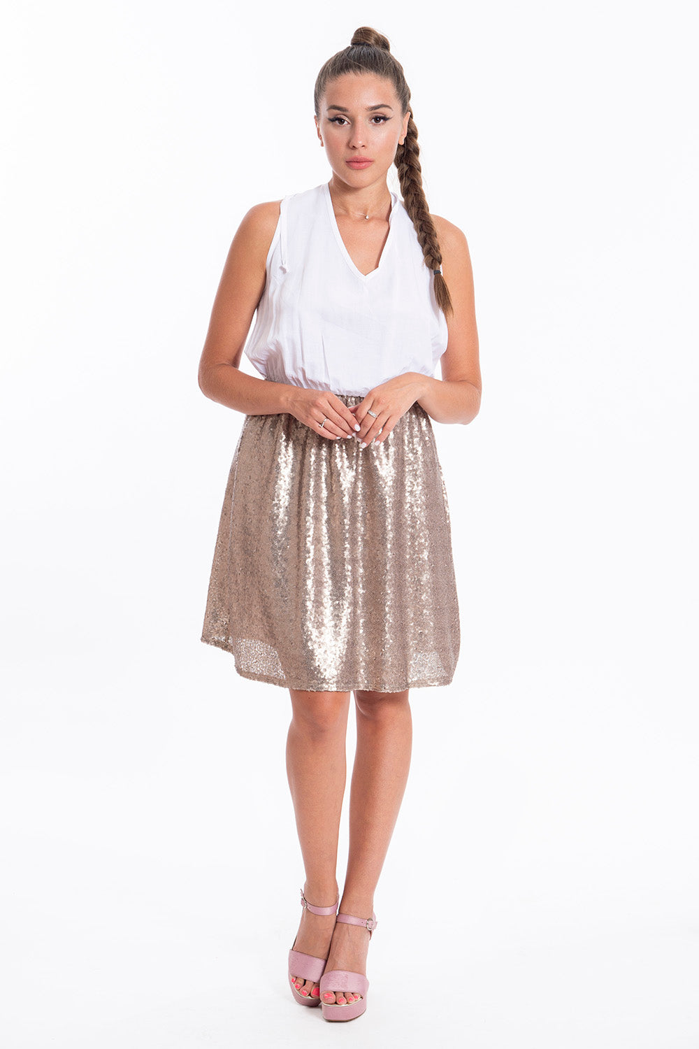 Akè mini sparkle dress