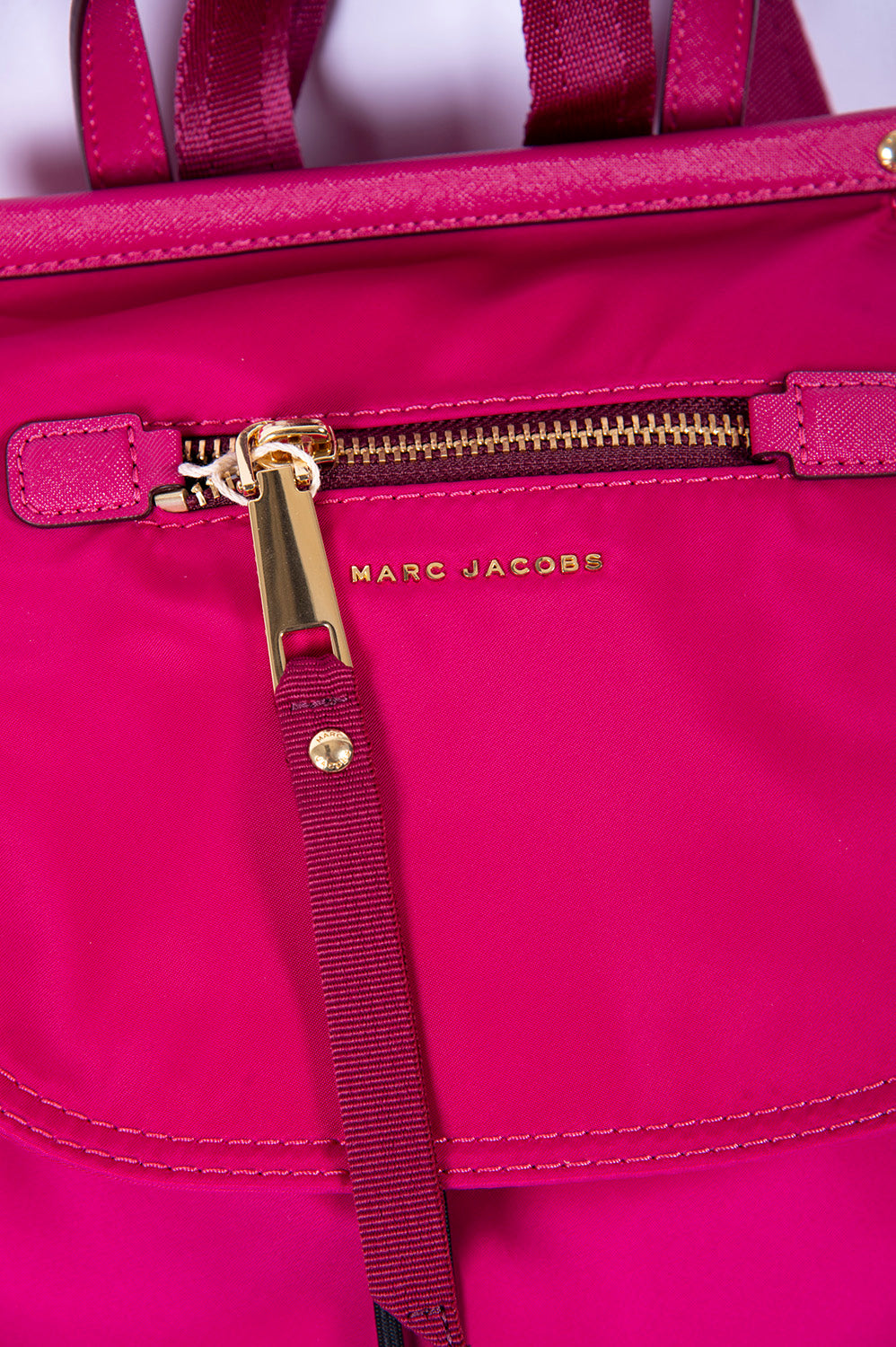 Marc Jacobs shell pink backbag