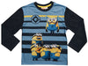 Minions stripes long sleeve t-shirt