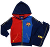 FC Barcelona logo joggers with hood