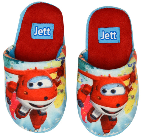 Super Wings slippers with Jett