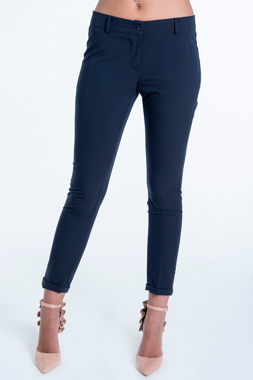 Exsy soft tailored trousers